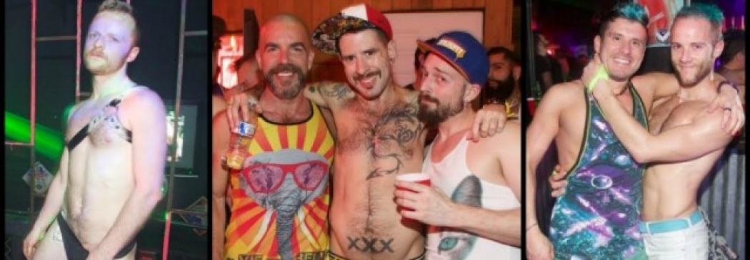 Gay Events: Guys With Slick Hands And Sweaty Bodies Party Their Pants Off!