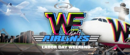 WE Party: Airlines Comes To New York City for Labor Day