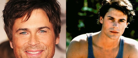 Rob Lowe, Now & Then