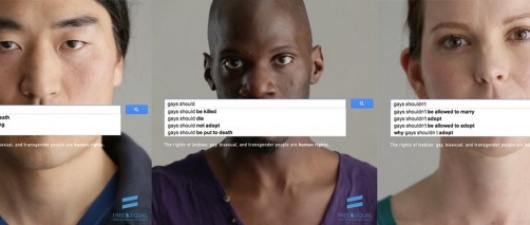 UN Campaign Reveals Shocking, Depressing Gay Google Auto-Complete Function