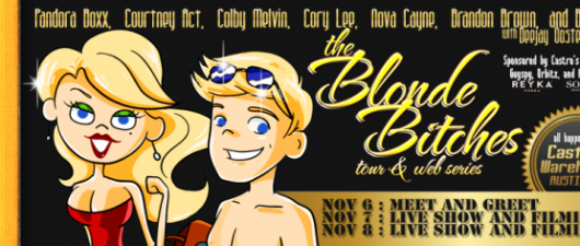 Join GuySpy's Blonde Bitches, Tonight At Castro's Warehouse, Austin TX