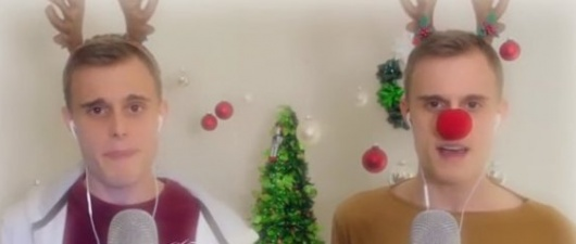 'Defying Gravity' Gets A 'Wicked' Holiday Twist (Video)