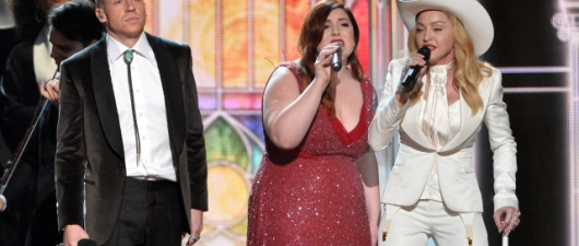 Macklemore, Queen Latifah, Madonna & The Grammy's Gay Wedding