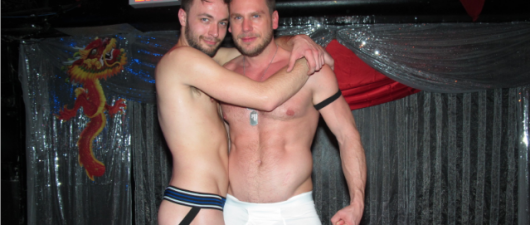 Stripping Down At Daniel Nardicio's Underwear Party: Long John Edition.