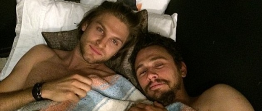 James Franco In Bed With Keegan Allen?