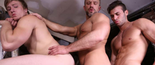 Dirk Caber, Jarec Wentworth & Tom Faulk: Men For Sale