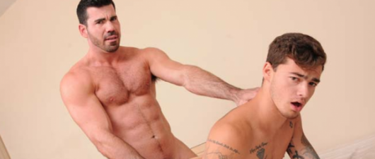 Billy Santoro Fucks Trevor Spade: Neighbours (NSFW)