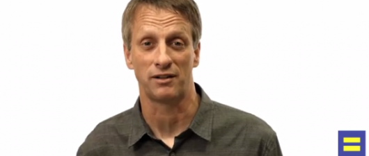 Tony Hawk Backs Gay Marriage As Part Of HRC's 'Americans For Marriage Equality' Campaign (VIDEO)