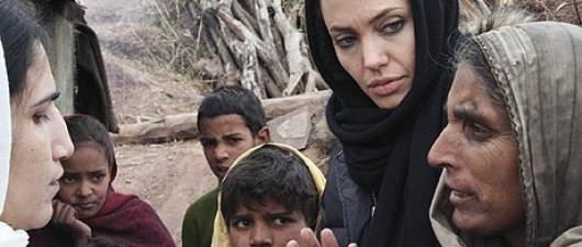 Angelina Jolie Releases Statement On Syrian Refugees!