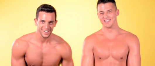Murray Swanby and Alec Leddy Get Naked For AC