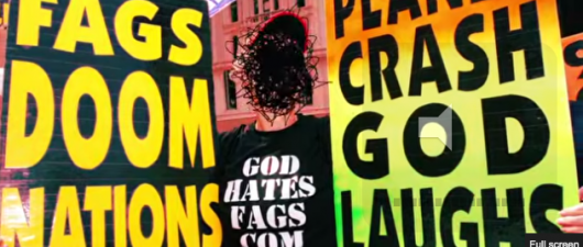 God Loves Gays: Comedian's Billboard Taunts Westboro Baptist!