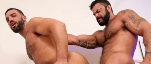 Rogan Richards and Abraham Al Malek: The Tourist (NSFW)