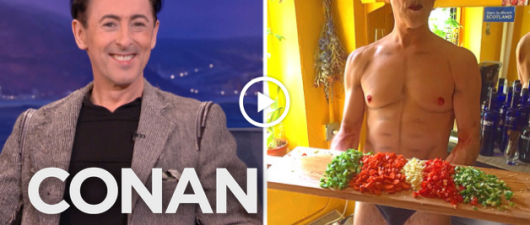 Alan Cumming Talks Shia Lebeouf Arrest, Sex Clubs, And Cooking Naked!