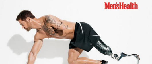 Noah Galloway: Meet Men's Health November Cover Model + Vet!