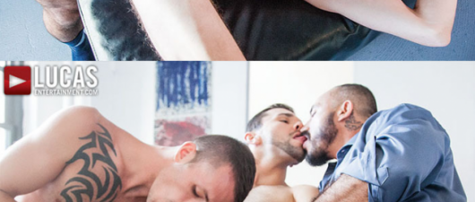 Alessio Romero, Jimmie Slater, Adam Isaacs and BJ Rhubarb (NSFW)