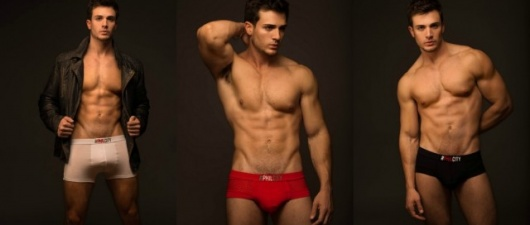 Phil Fusco Strips Down To Show Us His New Underwear Line, PhilCity!