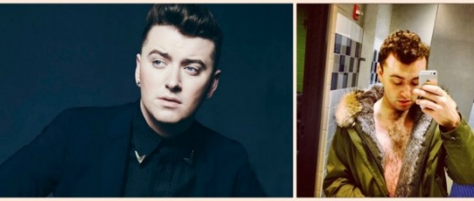 """Sam Smith Posts """"Shirtless"""" Pic In Response To Howard Stern's Comment"""
