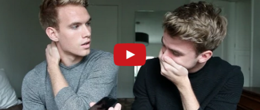 Coming Out: This Dad's Response To His Twin Sons Is Perfect
