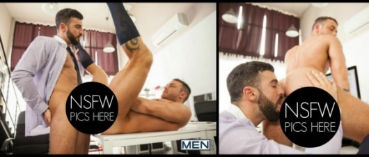 Abraham Al Malek and Logan Moore: Executive Brothel (NSFW)