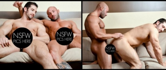 Christian Power and Max Chevalier: Clash of Titans (NSFW)