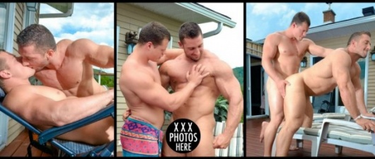 Ivan Lenko Fucks Christian Power: Muscle Bottom (NSFW)