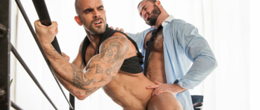 Jessy Ares Fucks Damien Crosse: Executive Brothel (NSFW)