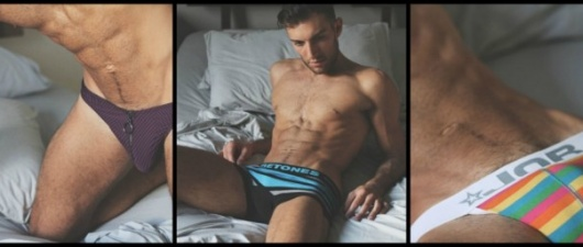 Underwear That Earns Its Stripes, On Jared North