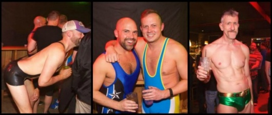 Gay Seattle: Hunky Dads Strip Down To Their Undies For Good!