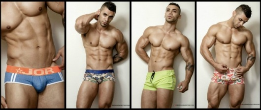 Arad Winwin Fills Jor's 2015 Swimwear With More Than Muscle