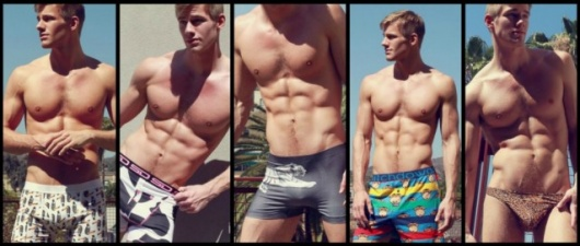 Blake Postma, A Sexy Animal In Animal Prints
