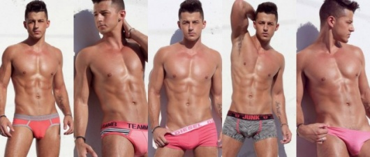 Murray Swanby Puts It All In The Pink Underwear