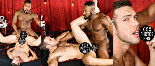 Alex Mecum and Noah Donovan:  Dirty Valentine (NSFW)