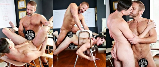Dirk Caber & Jack Hunter Flip-Fuck: Straight-A Student (NSFW)