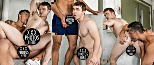 Gabriel Cross and Jay Roberts (NSFW)