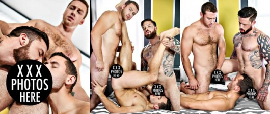 Connor Maguire & Jordan Levine Tag-Team Brenner Bolton (NSFW)