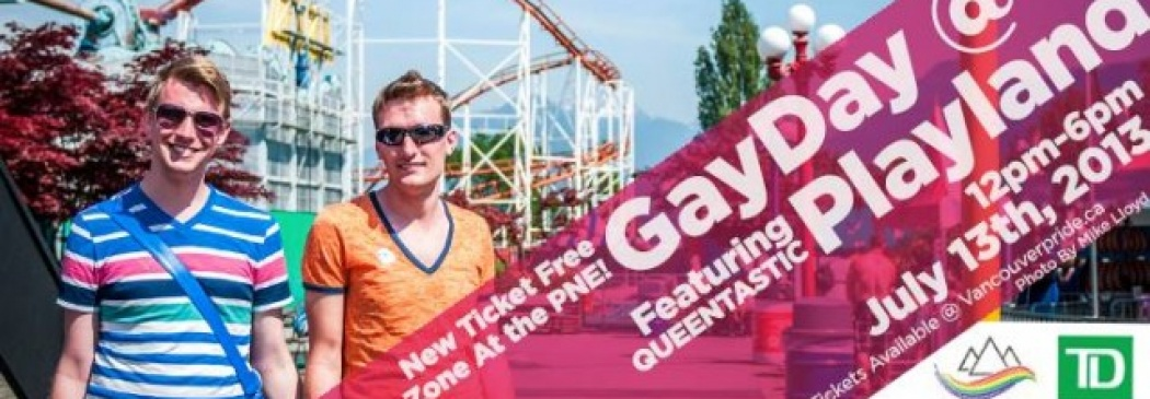 GuySpy Gives It Away: Tickets to GayDay at Playland!