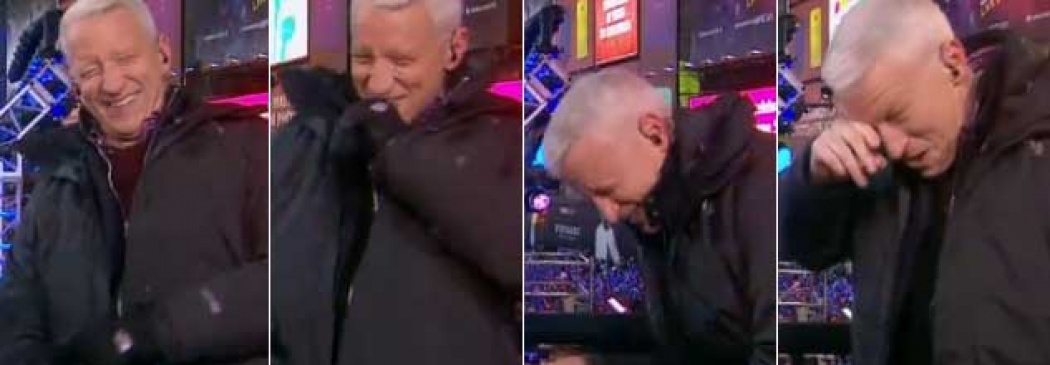 Anderson Cooper Giggle Fits With Kathy Griffin (Video)