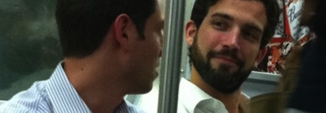 Sexy Men Riding The Subway In New York