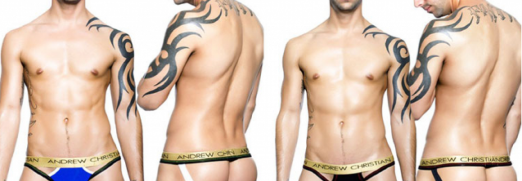 Hot Or Not: Andrew Christian Jumper Jock!