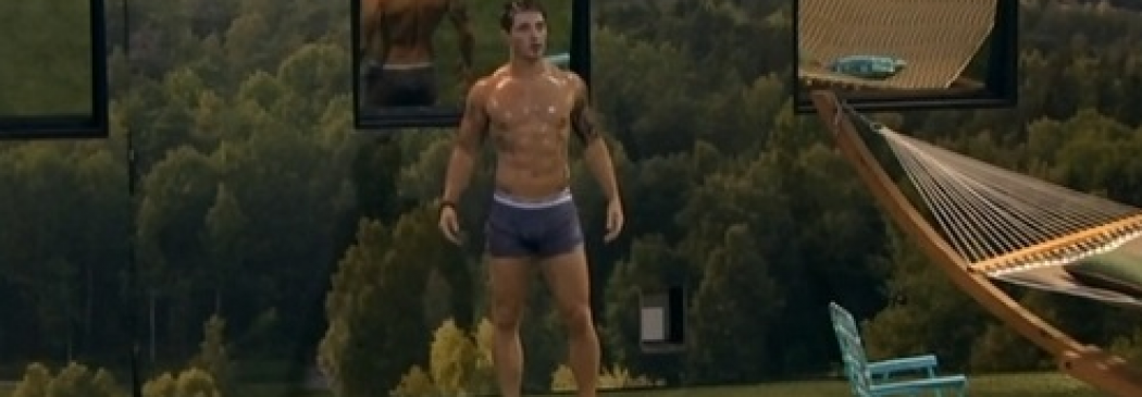 Big Brother's Caleb Reynolds Has A Hot Shower! (PICS)