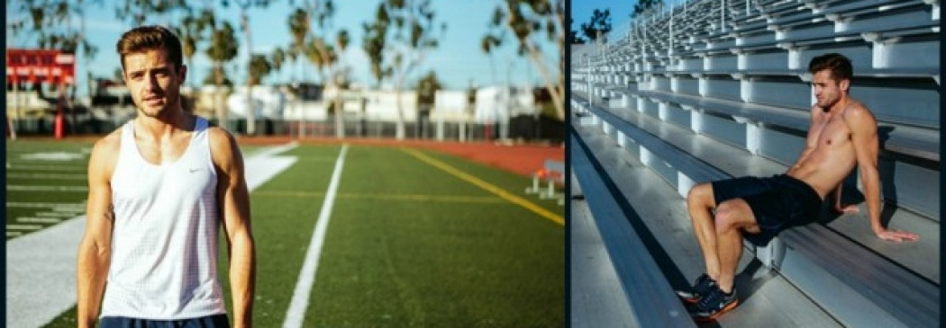 Robbie Rogers: Behind The Scenes Pics From His Morning Work Out!