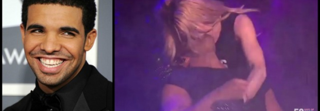 Drake Doesn't Love Getting Smooched By Madonna!