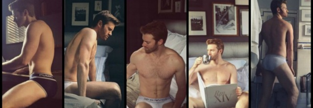 Mark MacKillop Talks And Strips, Exclusively for The Underwear Expert