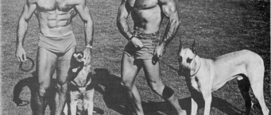 Seymour Koenig Photographed by the Athletic Model Guild