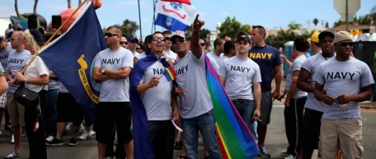 American Military Academies Celebrate First Gay Pride Events