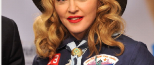 News Guyd: Madonna Dresses As Boy Scout, Slams Organization's Gay Ban And Honors Anderson Cooper