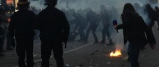 Violent Anti-Equal Marriage Protesters Clash with Police in France