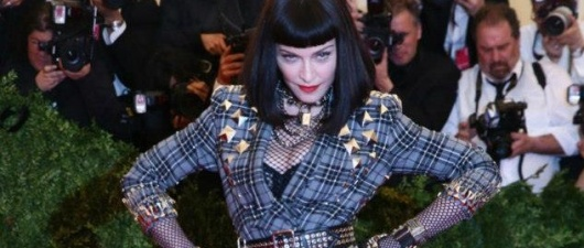 Photo-Op: Madonna at the Met