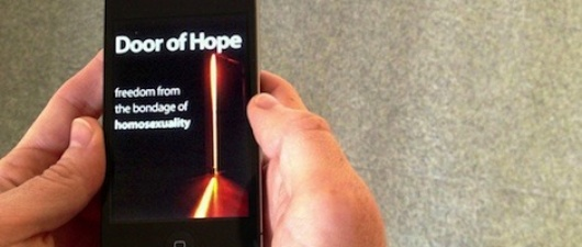 From Queerty: Mobile App Puts Ex-Gay Therapy in the Psalm of Your Hand