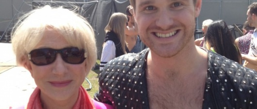 Danny Hilton, Helen Mirren and Katy B: GuySpy at As One In The Park